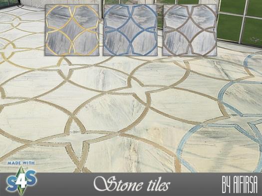 Aifirsa Sims: Stone Tiles