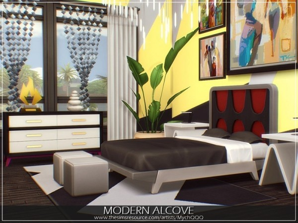 The Sims Resource: Modern Alcove home by MychQQQ