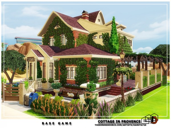 The Sims Resource: Cottage in Provence by Danuta720
