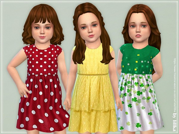 The Sims Resource: Toddler Dresses Collection P121 by lillka
