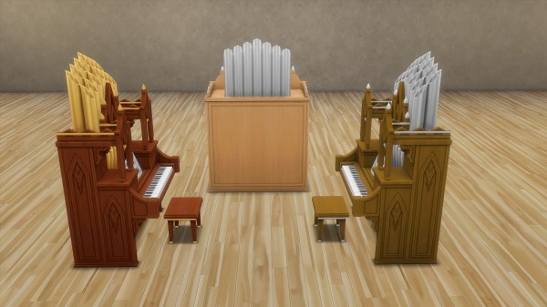 Mod The Sims: Pipe organ by hippy70