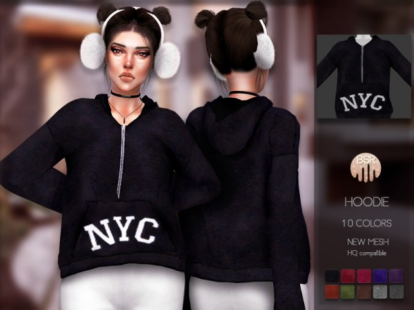 The Sims Resource: Hoodie BD169 by busra tr
