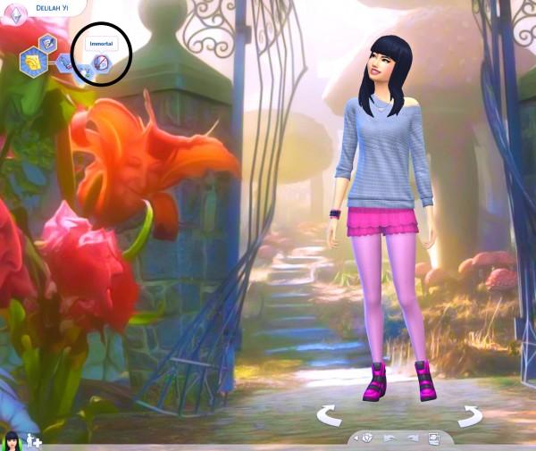 Mod The Sims: Immortal Trait with Sadness Buff by Splendiferous Sims