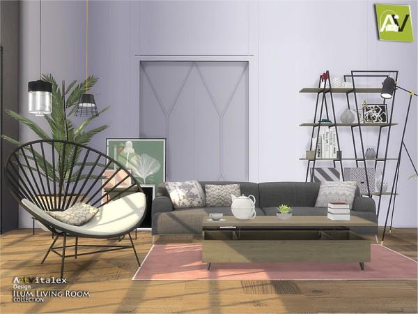 The Sims Resource: Ilum Living Room by  ArtVitalex