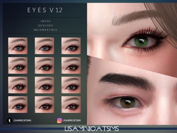 The Sims Resource: Eyes V22 by Lisaminicatsims