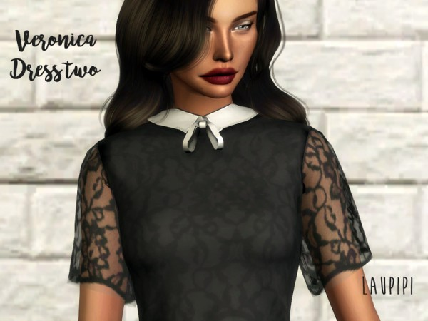 The Sims Resource: Veronica Dress two by laupipi