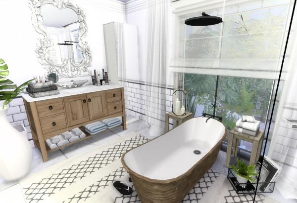 Sims4Luxury: Willow Creek   The black & white houses
