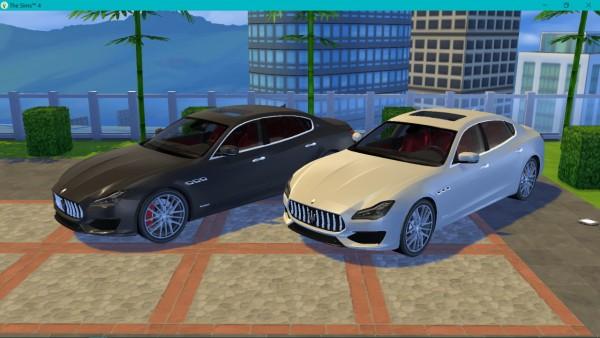 Lory Sims: Maserati Quattroporte GTS