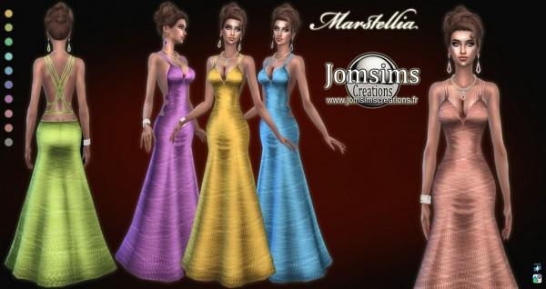 Jom Sims Creations: Marstellia Dress