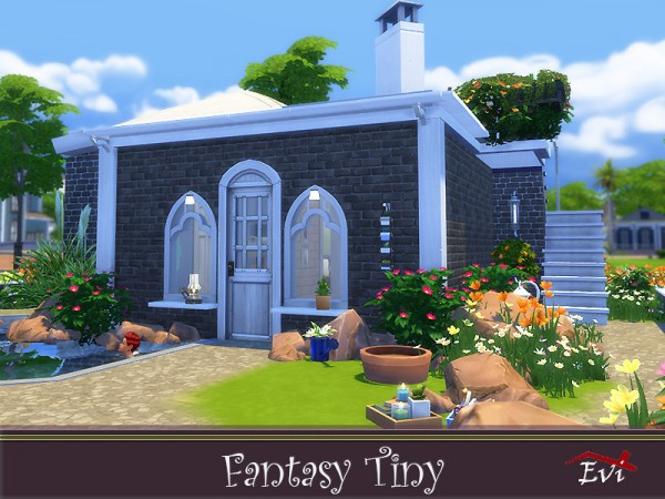 The Sims Resource: Fantasy Tiny House by evi