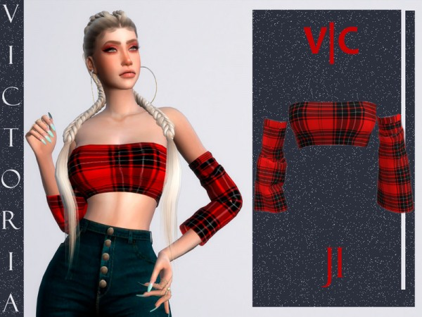 The Sims Resource: Top J1 by Viy Sims