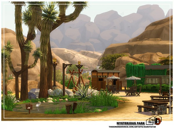 The Sims Resource: Mysterious park by Danuta720
