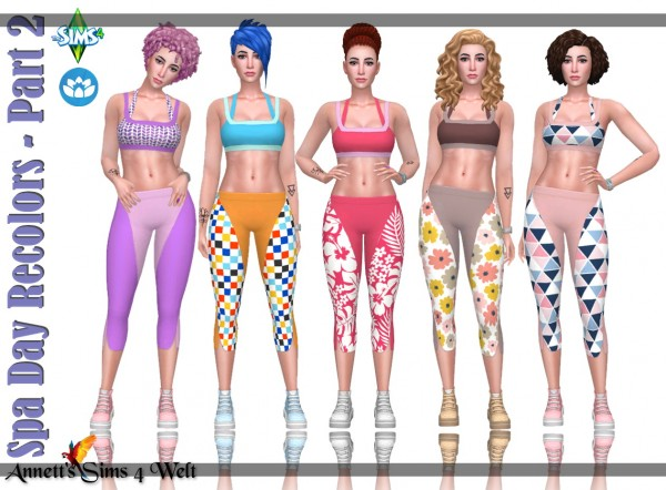 Annett`s Sims 4 Welt: Spa Day Recolors   Part 2