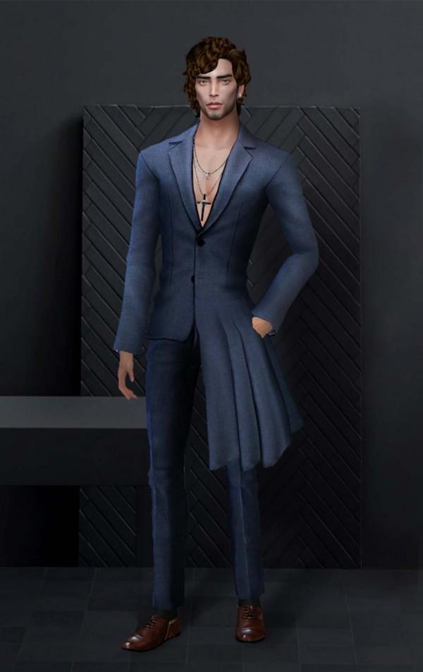 Hoanglap Sims: Alexander McQueen Suit
