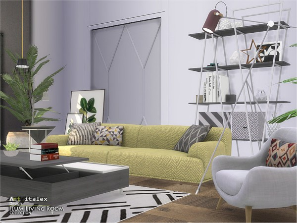 The Sims Resource: Ilum Living Room by  ArtVitalex