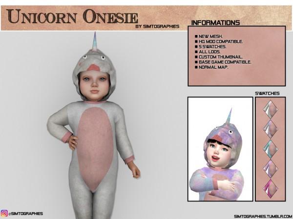 Simtographies: Unicorn Onesie