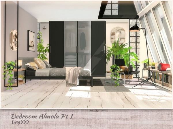 The Sims Resource: Bedroom Amola Part 1 by ung999