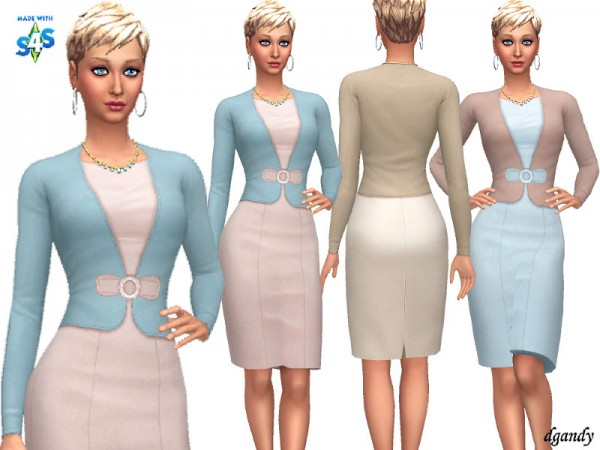 The Sims Resource: Dress 20200118 by dgandy