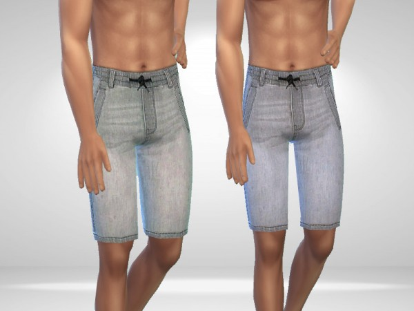 The Sims Resource: Denim Shorts by Puresim