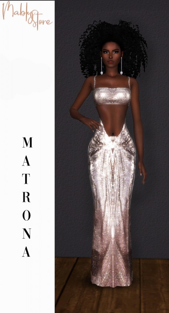 Mably Store: Matrona dress