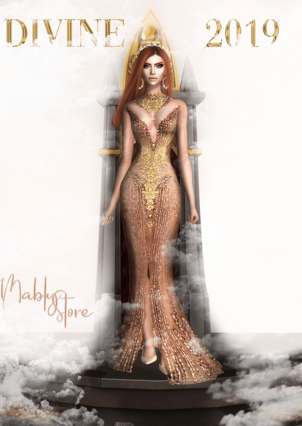 Mably Store: Divine 2020 Dress