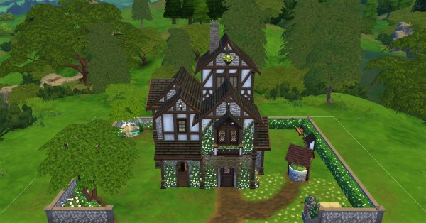 Luniversims: Tudor house for windenburg by  Clara81