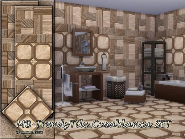 The Sims Resource: Trendy Tile Casablanca Set by matomibotaki