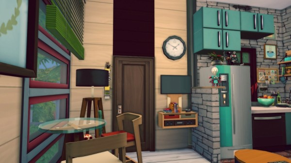Sims Artists: Rouge House