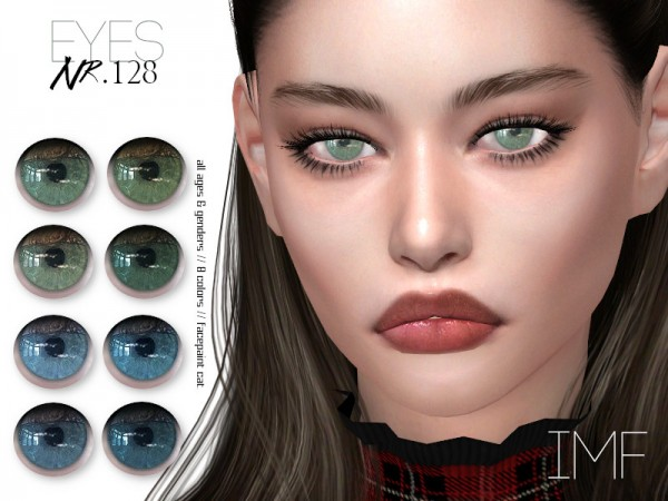 The Sims Resource: Eyes N.128 by IzzieMcFire