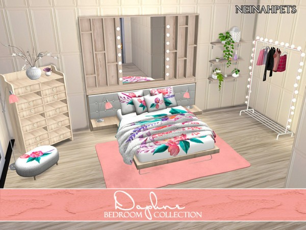 The Sims Resource: Daphne Bedroom Collection by neinahpets