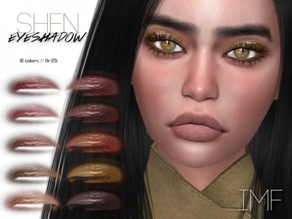 The Sims Resource: Shen Eyeshadow N.125 by IzzieMcFire