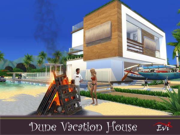 The Sims Resource: Dune Vacation House by evi