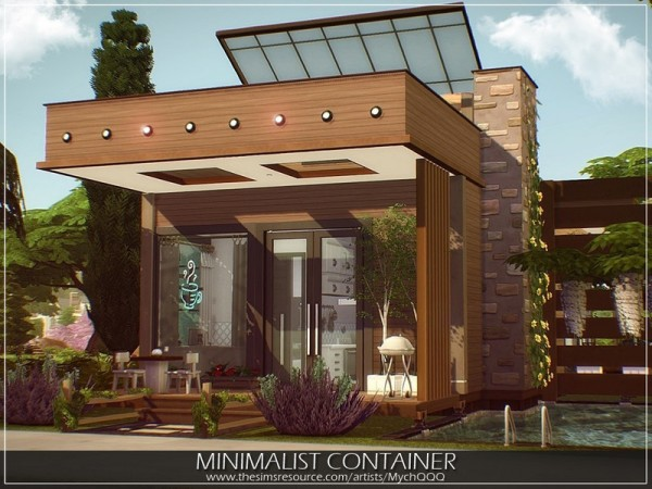 The Sims Resource: Minimalist Container by MychQQQ