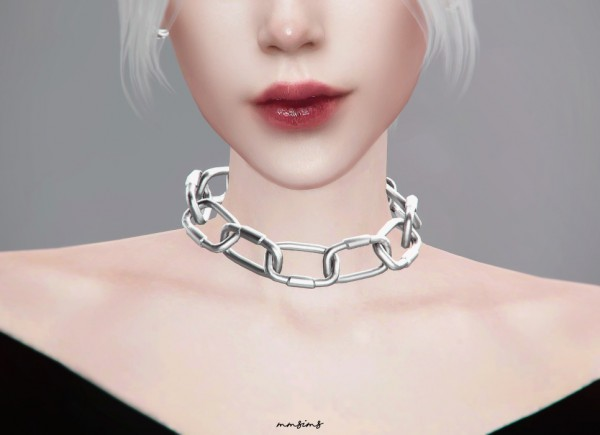 MMSIMS: Bold chain Necklace