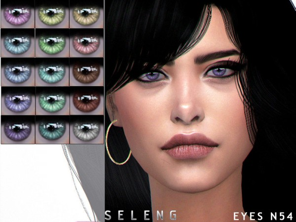 The Sims Resource: Eyes N54 by Seleng