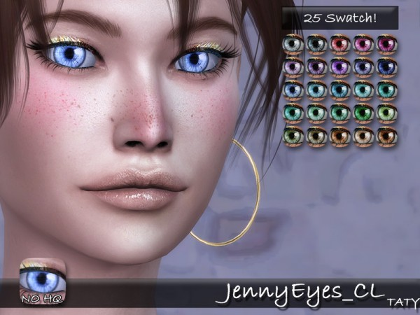 The Sims Resource: Jenny Eyes by taty