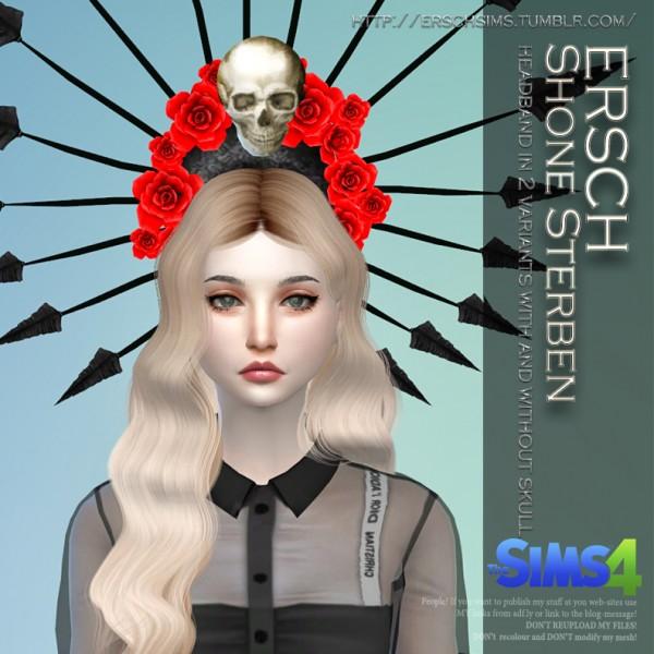 ErSch Sims: Shone Sterben Headband