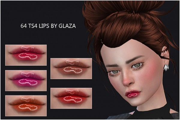 All by Glaza: Lips 64