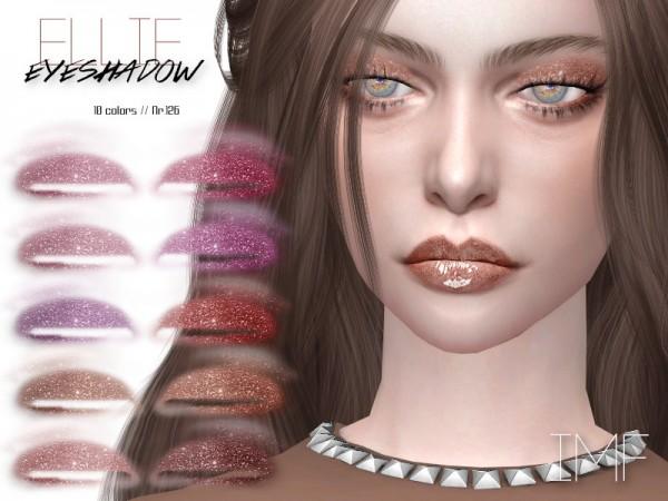 The Sims Resource: Ellie Eyeshadow N.126 by IzzieMcFire