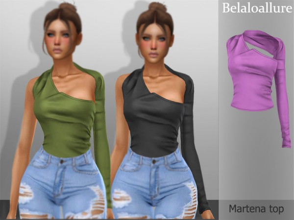 The Sims Resource: Martena top by belal1997