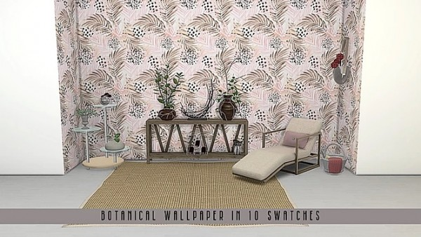 Blooming Rosy: Botanical Wallpaper Collection