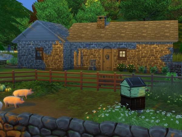 KyriaTs Sims 4 World: Norvik grise farm