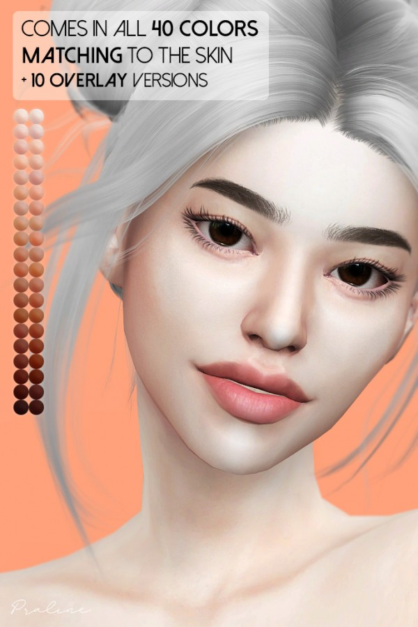 Praline Sims: Persimmon Doble Eyelid Mask