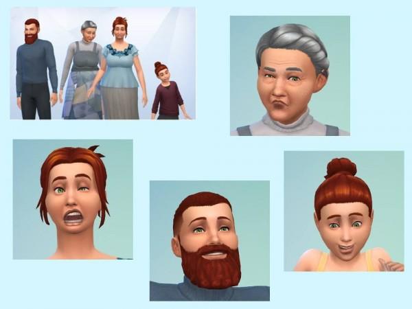 KyriaTs Sims 4 World: The Norvik family