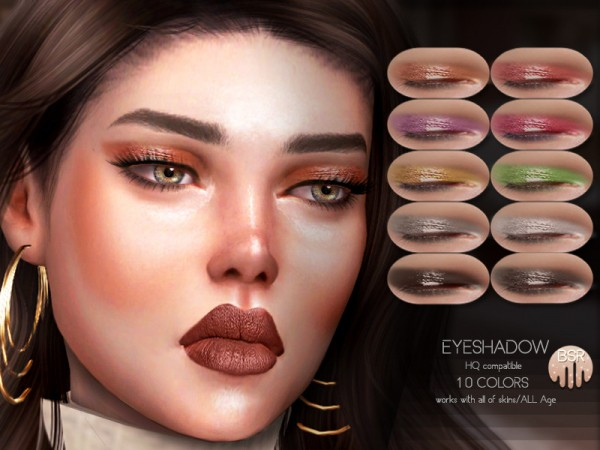 The Sims Resource: Eyeshadow BS08 by busra tr