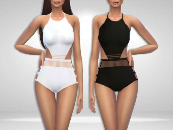 The Sims Resource: Tornado Swimsuit by Puresim