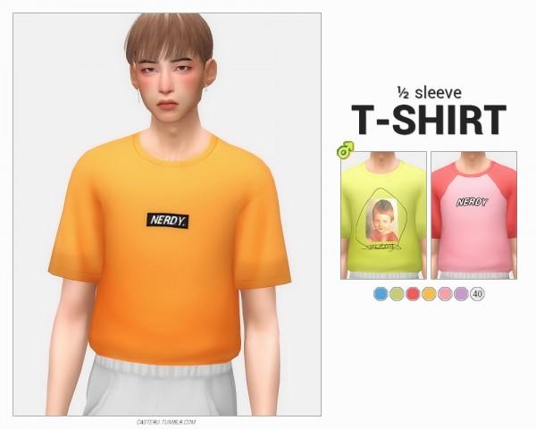 Casteru: ½ Sleeve t shirt