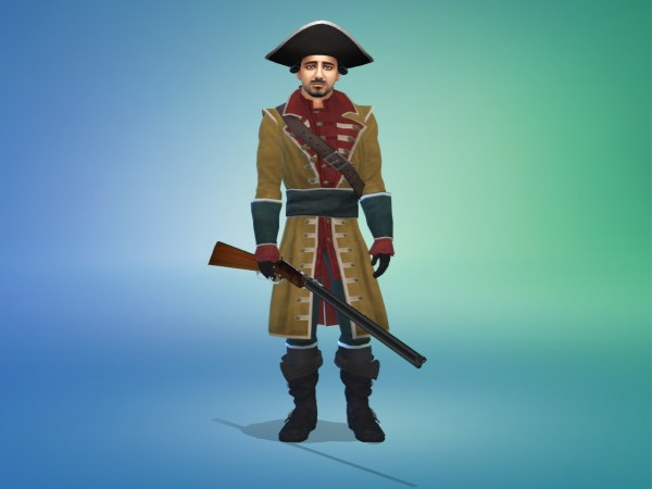 Mod The Sims: 18th Century Spanish Military Uniform by Nutter Butter 1
