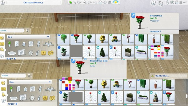 Mod The Sims: Bouquet of roses by hippy70