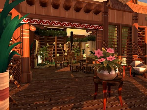 The Sims Resource: Beach Side Bar   No CC by Sarina Sims
